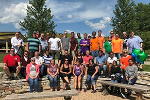 Further employee outing group photo