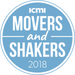 ICMI Movers And Shakers award logo