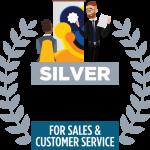 2019 Silver Stevie Award Logo