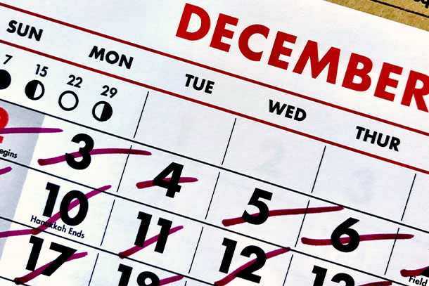 Manage your medical claims with your calendar