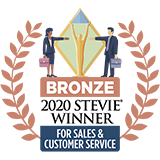 Stevie award logo